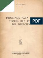 Álvaro d'Ors, Principios para una teoría realista del derecho.