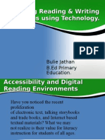 Emerging Reading & Writing Strategies Using Technology