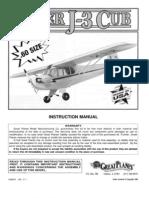 Piper Cub Airplane Kit Manual