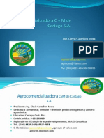 Perfil de La Empresa Agrocym