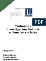 Trabajo investigación historia