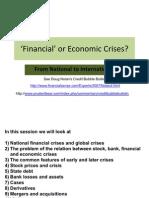 BBK 9 Intro to Financial Crises