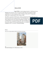 History of NYSE