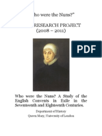 Who Were the Nuns