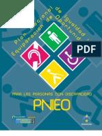 PNIEO - Plan Nacional de Igualdad y Equiparación de Oportunidades