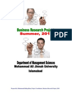 Project Report Guidelines,2011