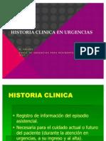 2.-Historia Clinica en Urgencias