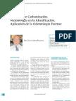 Muertes Po Carbonizacion Metodologia en La Identificacion Aplicacion de La Odontologia Forense