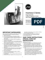 E8 Jura Capresso Manual