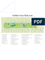 Map of Golden Gate Park