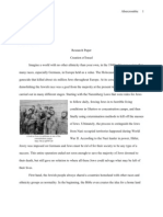 Resear Paper - Creation of Israel
