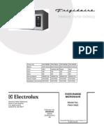 Service Manual Frigid a Ire FMV156DCC