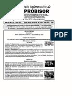 Aprobisor Boletín N° 216 Julio de 2011