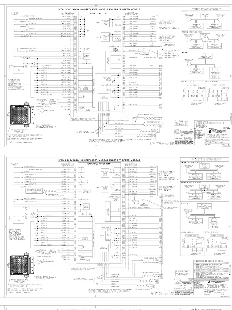 Fine Allison Md 3060 Wiring Diagram Pictures Inspiration - The Best ...