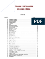 LÍNGUA PORTUGUESA - Apostila para Provão