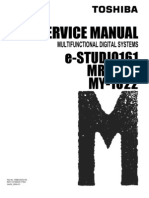Manual de Servicio Toshiba e-STUDIO161_SM