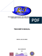 The Learning Town - Teacher's Manual