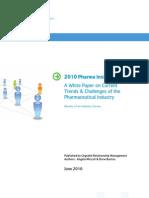 Pharma Insights Survey Whitepaper June 2010