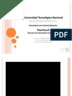 FlowTouch - Servicio de Terminales Interactivos - Tesina por Lic. Federico Colombo - UTN (Abr 2011)