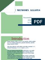 Shape Memory Alloys1