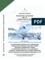 ANUARIO ININCO 21. Artículo  La comunicación poshumana.  Carlos Colina