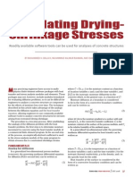 CI_Calculating Drying Shrinkage Stresses