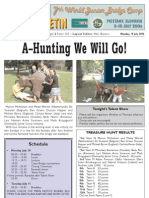 Daily Bulletin 8 from the 2006 WBF Junior Bridge Camp in Piestany, Slovakia