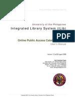 iLib Manual OPAC