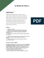 Analisis Modo y Efecto de Falla
