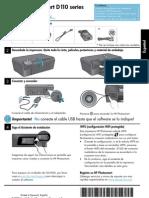 HP d110 español