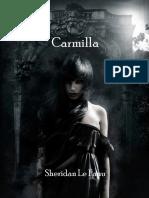 Carmilla. Joseph Sheridan Le Fanu