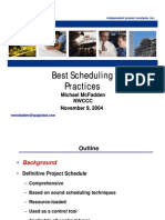 Best Scheduling Practices
