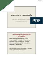 Auditoria de La Direccin