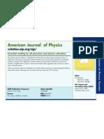 American Journal Phisycs