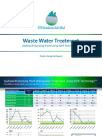 Seafood Processing Plant Waste Water Treatment