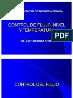 Control Flujo, Nivel y Temperatura