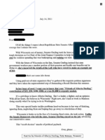 Paul Ryan Fundraising Letter