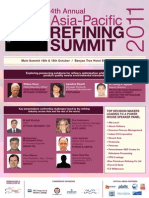 4th Annual Asia Refining Summit 2011