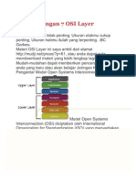 Model Jaringan 7 OSI Layer