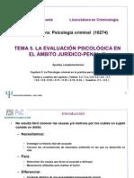 Evaluacion Psicologica en El Ambito Judicial