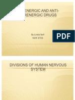 Adrenergic and Anti-Adrenergic Drugs (1)