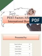 PEST Factors Affecting IB