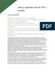 Concepciones y Aportes de Las TIC