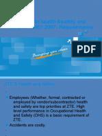 Health & Safety G