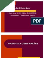 Gramatica Limbii Rom Ne Mihaela Gheorghe