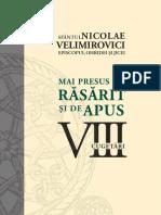 Nicolae Velimirovici Mai Presus de Rasarit Si de Apus