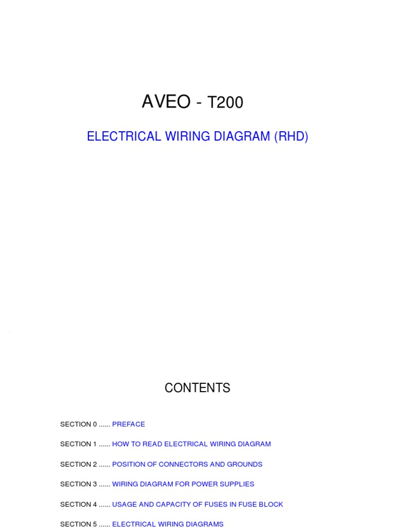 aveo electrical wiring diagram anti lock braking system (19k views)