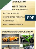 Unidad 3 Fundamentos de Motores - Motores Encendido Por Chispa