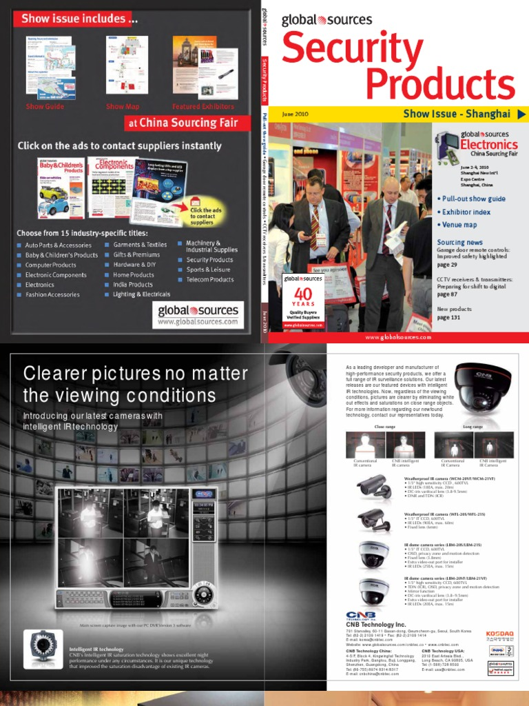 Global Sources - 2010 June - Security Products   Digital Video Recorder    Camera 90d7eefd78