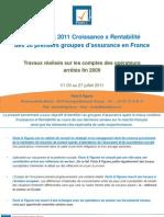 F&F - Benchmark 2011 Croissance x Rentabilité du marché français (V1.03)